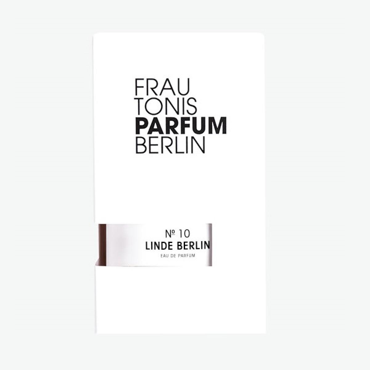 Frau Tonis Parfum No.10 LINDE BERLIN (frisch, blumig, sonnig), 50 ml Eau de Parfum