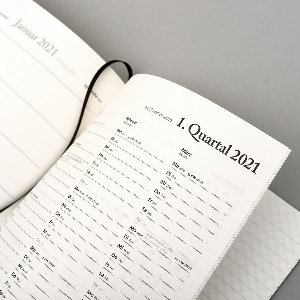 tyyp Kalender 2020 DIN A5, Timer, Agenda