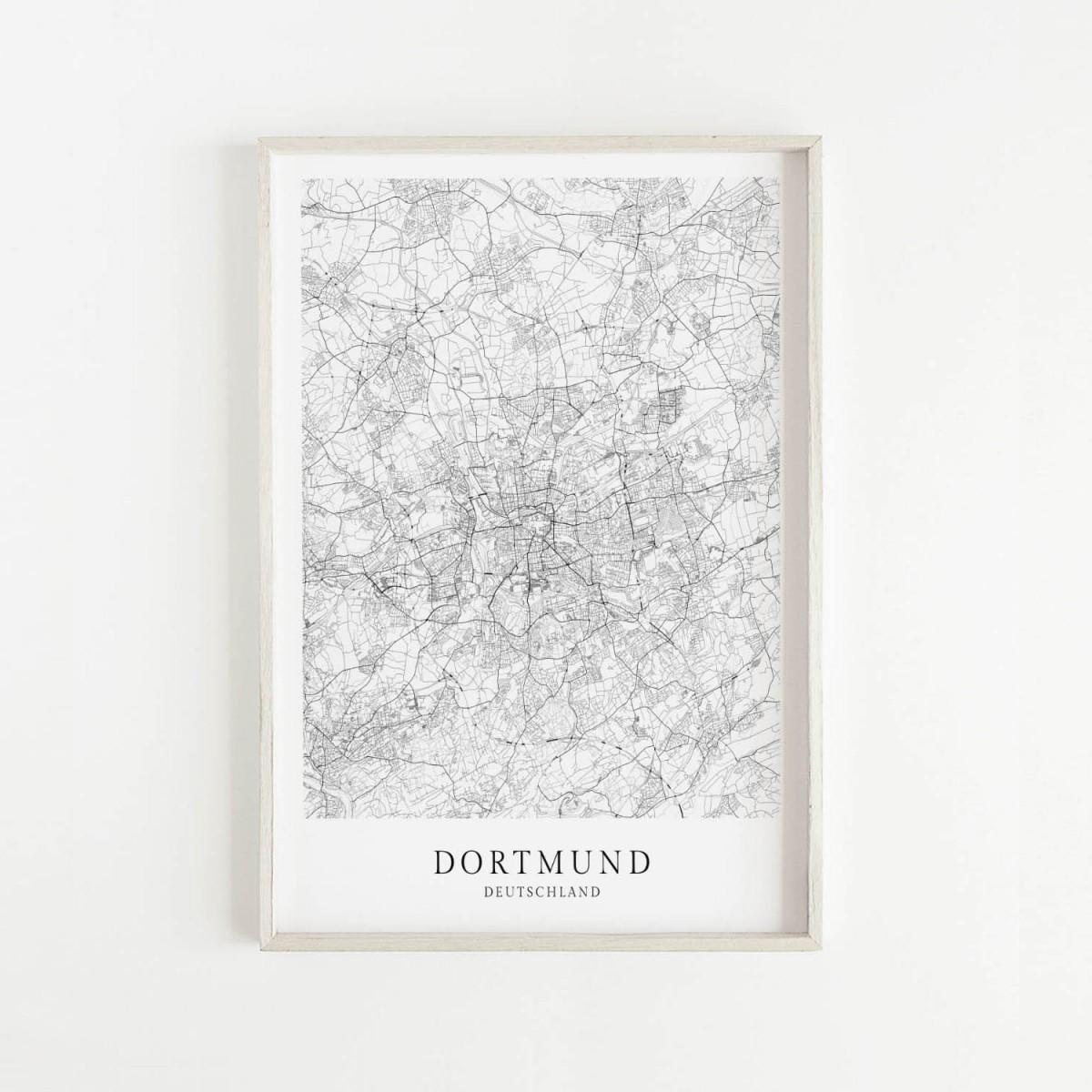 DORTMUND als hochwertiges Poster im skandinavischen Stil von Skanemarie +++ Geschenkidee
