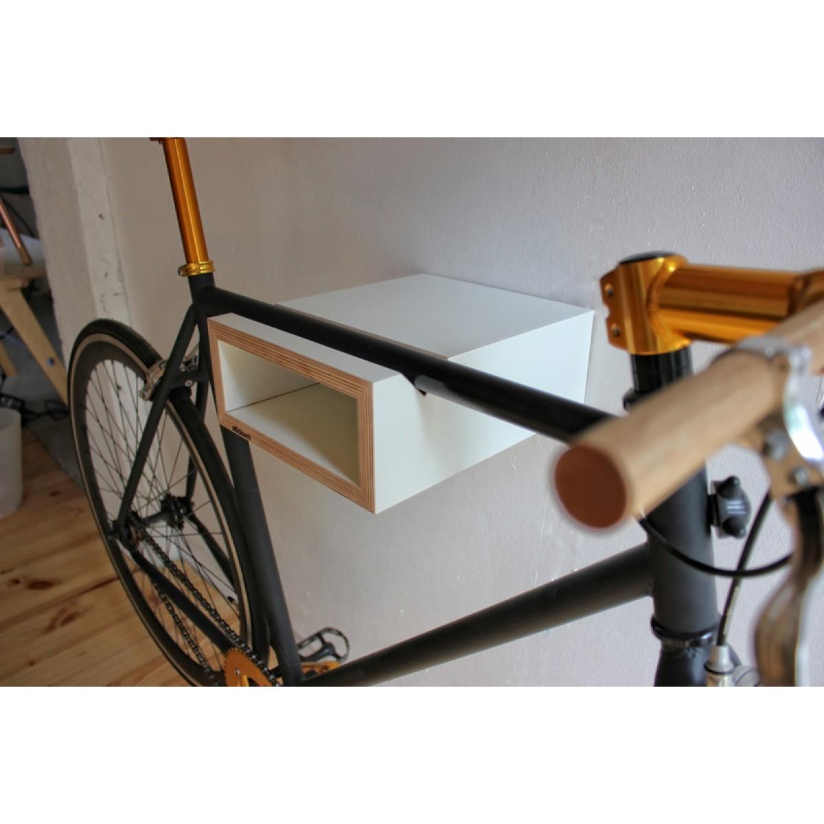 stückwerk bike-stop / weiß