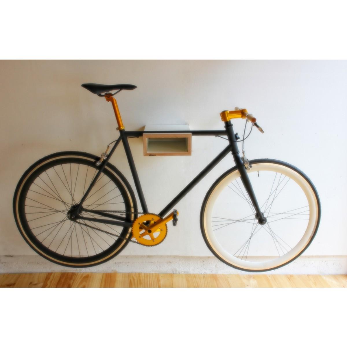 bike-stop / weiß
