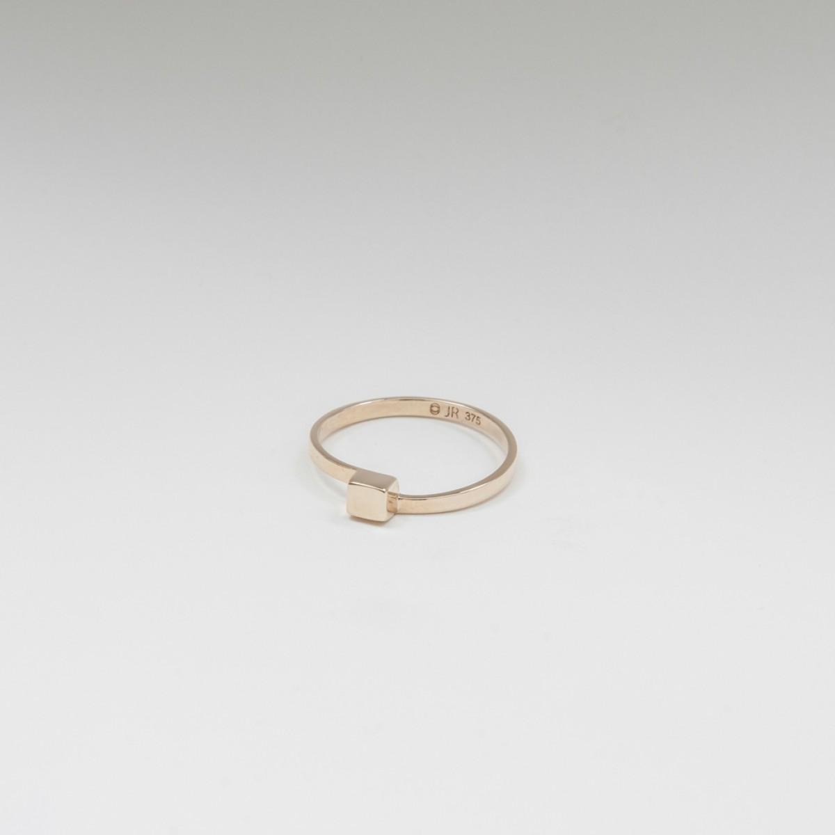 Jonathan Radetz Jewellery, Ring CUBE, Gold 375