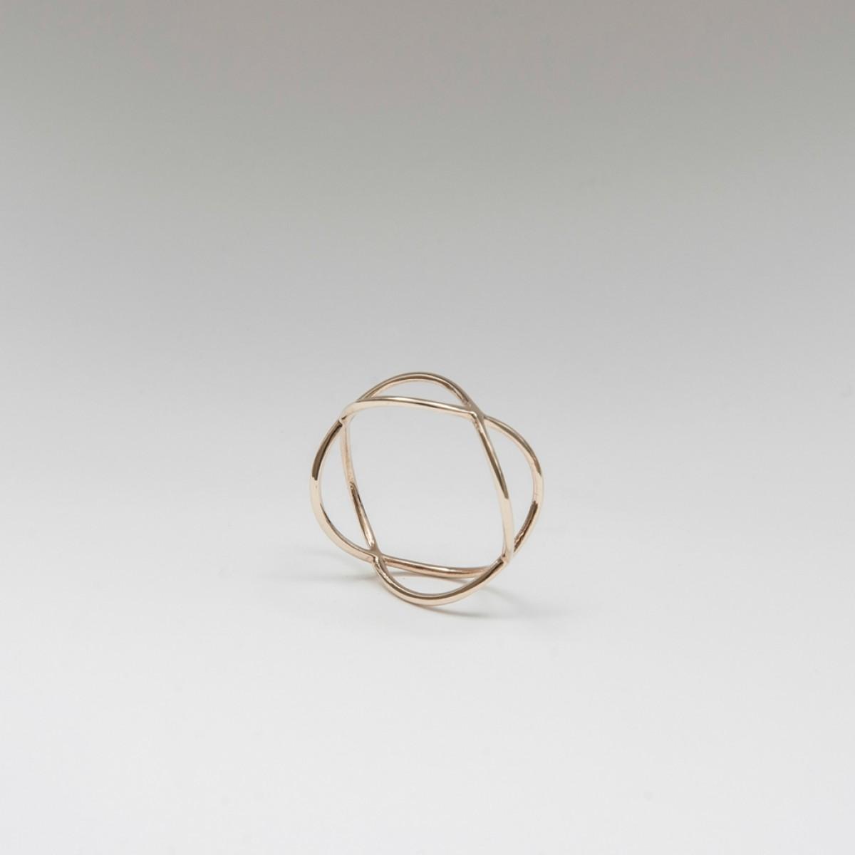Jonathan Radetz Jewellery, Ring TIMESTWO, Gold 375