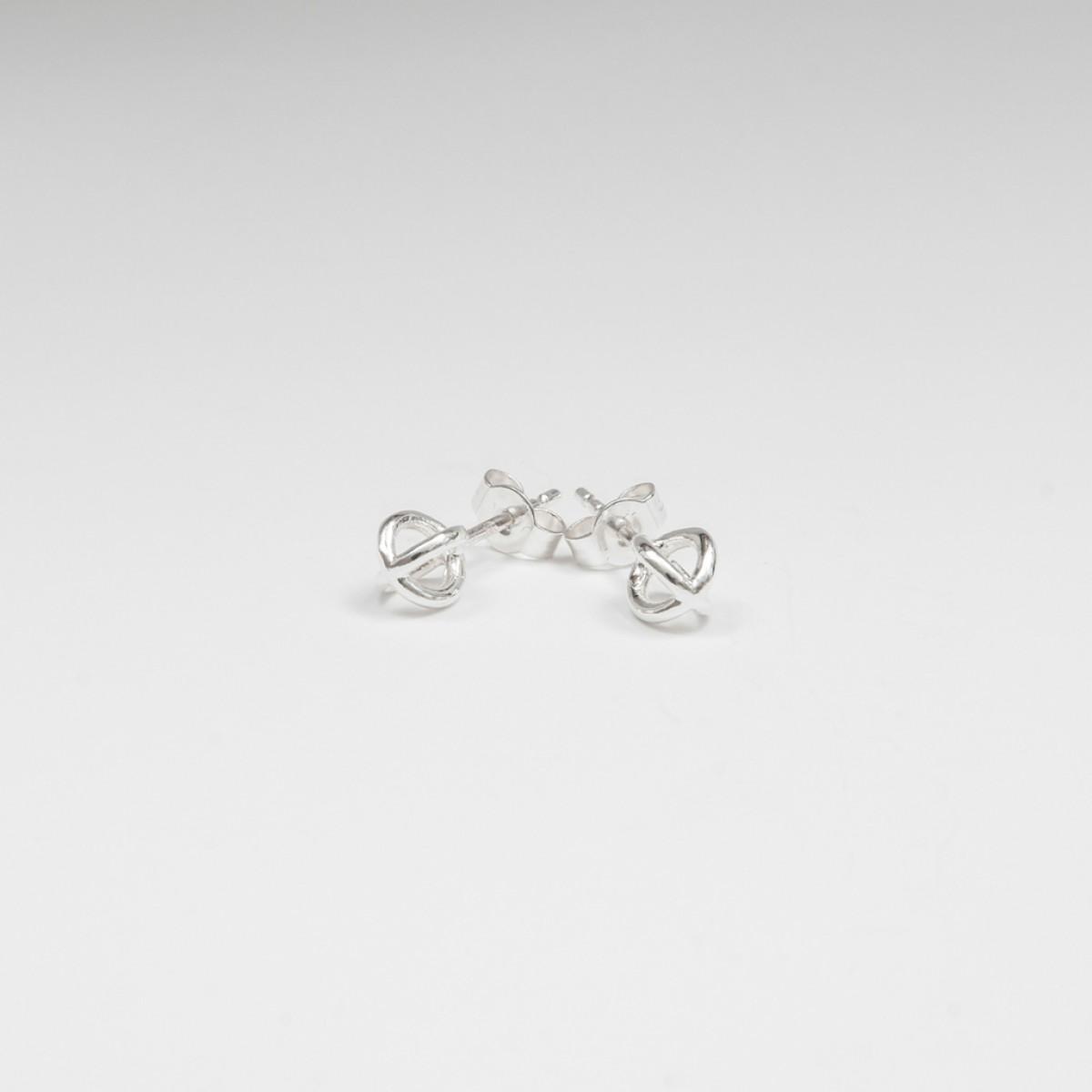 Jonathan Radetz Jewellery, Ohrstecker KISSKISS, Silber 925