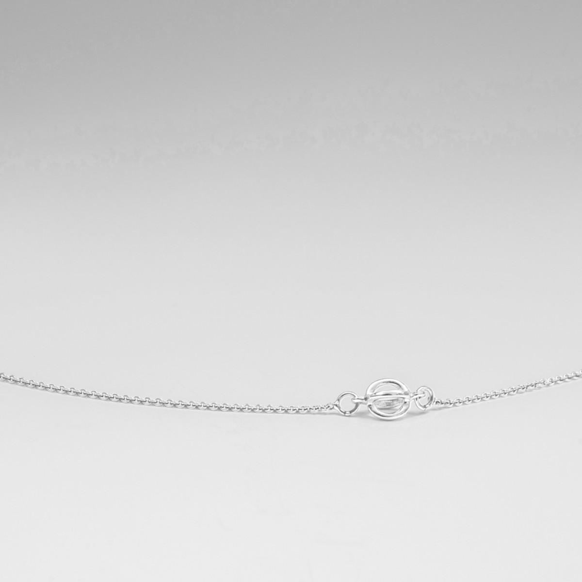 Jonathan Radetz Jewellery, Kette KISSKISS ONE, Länge 43cm Silber 925