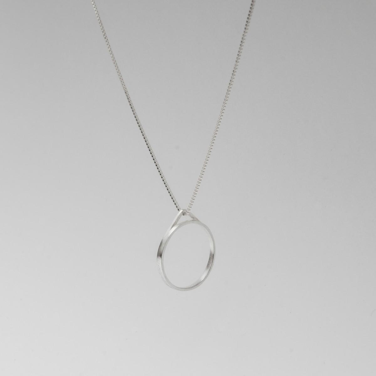 Jonathan Radetz Jewellery, Kette TRI, Länge 43cm, Silber 925