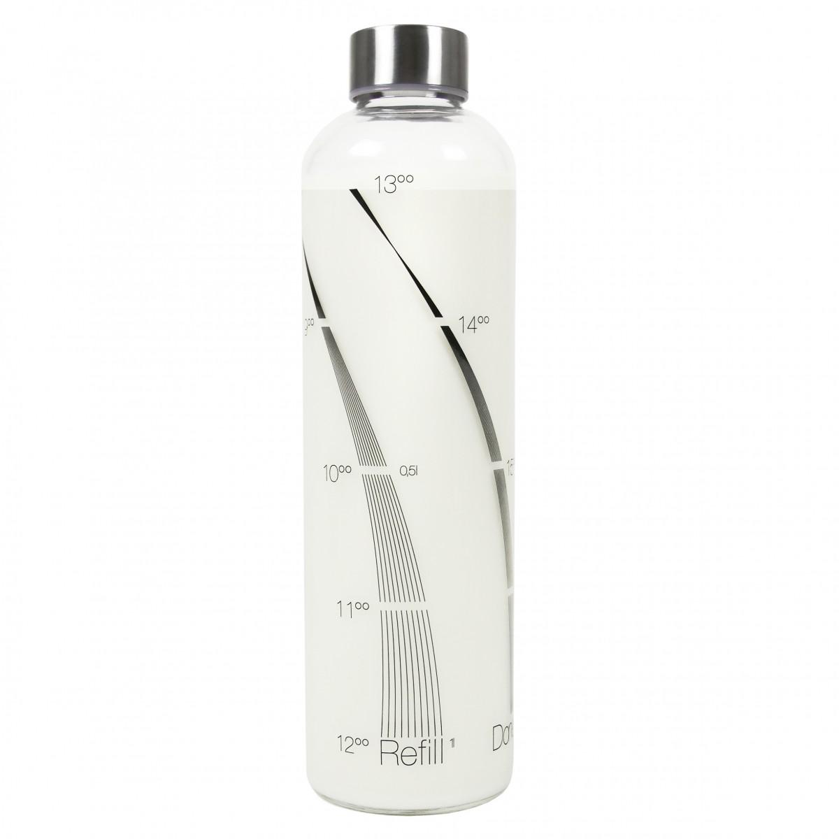drinkitnow trinkflasche 1 liter dekor flipper. Black Bedroom Furniture Sets. Home Design Ideas