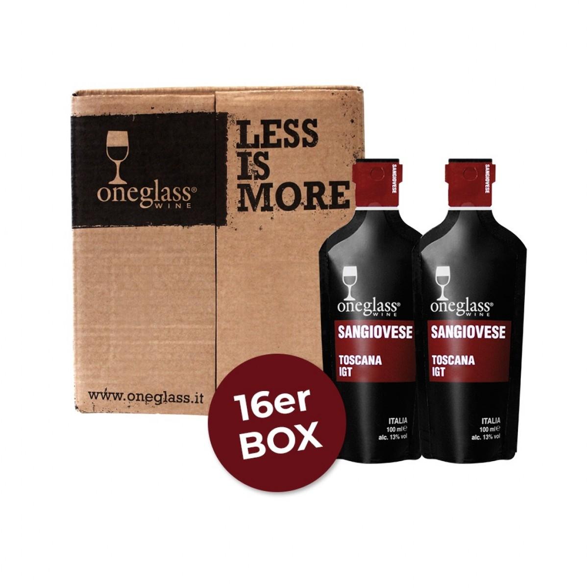 Sangiovese Box ONEGLASS 100ml