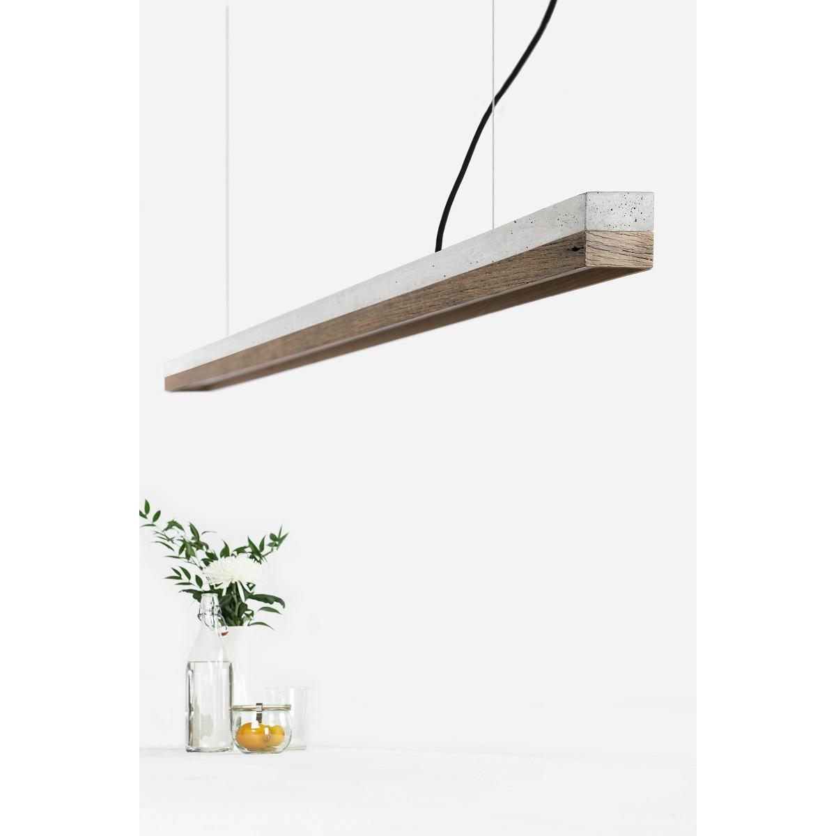 GANTlights - Beton Hängeleuchte [C3]old wood Lampe Altholz minimalistisch