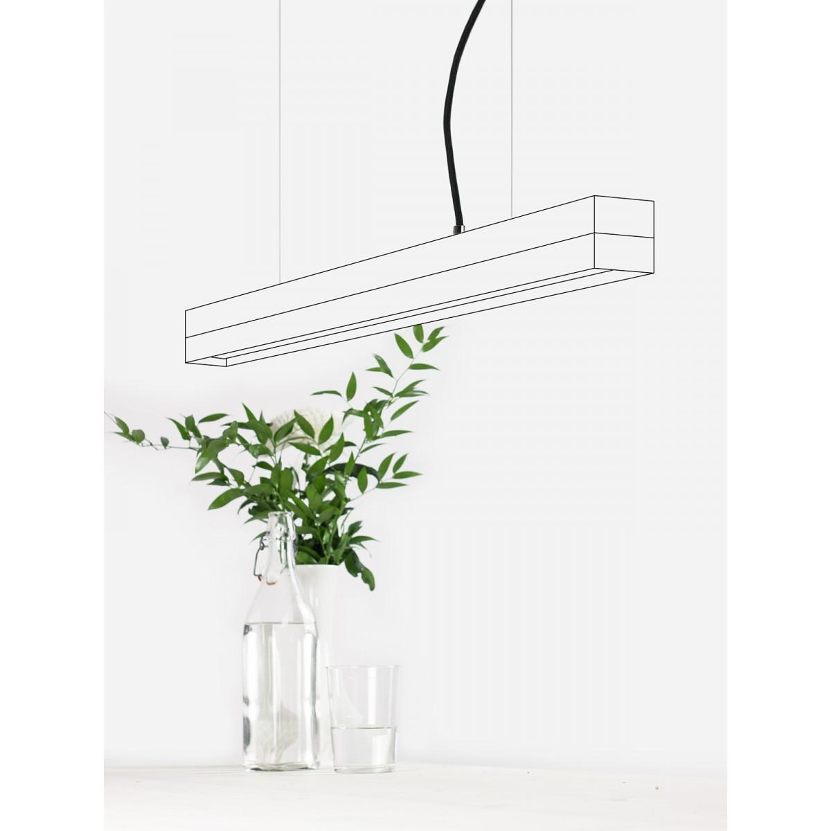GANTlights - Beton Hängeleuchte [C2]old wood Altholz minimalistisch