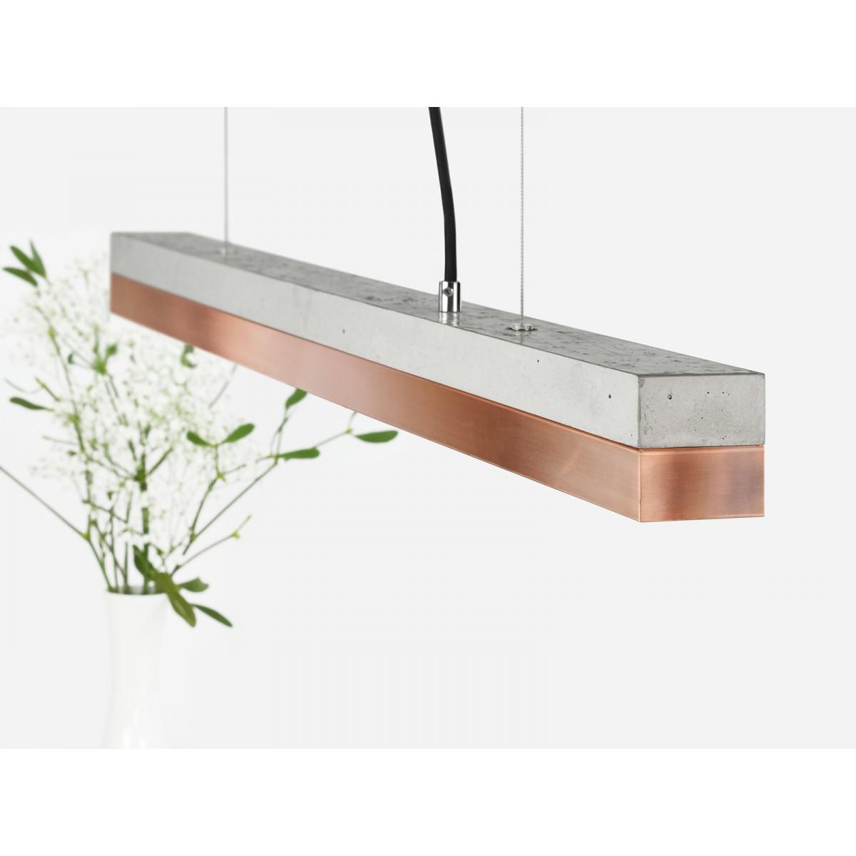 GANTlights - [C2]copper Pendelleuchte Kupfer klein
