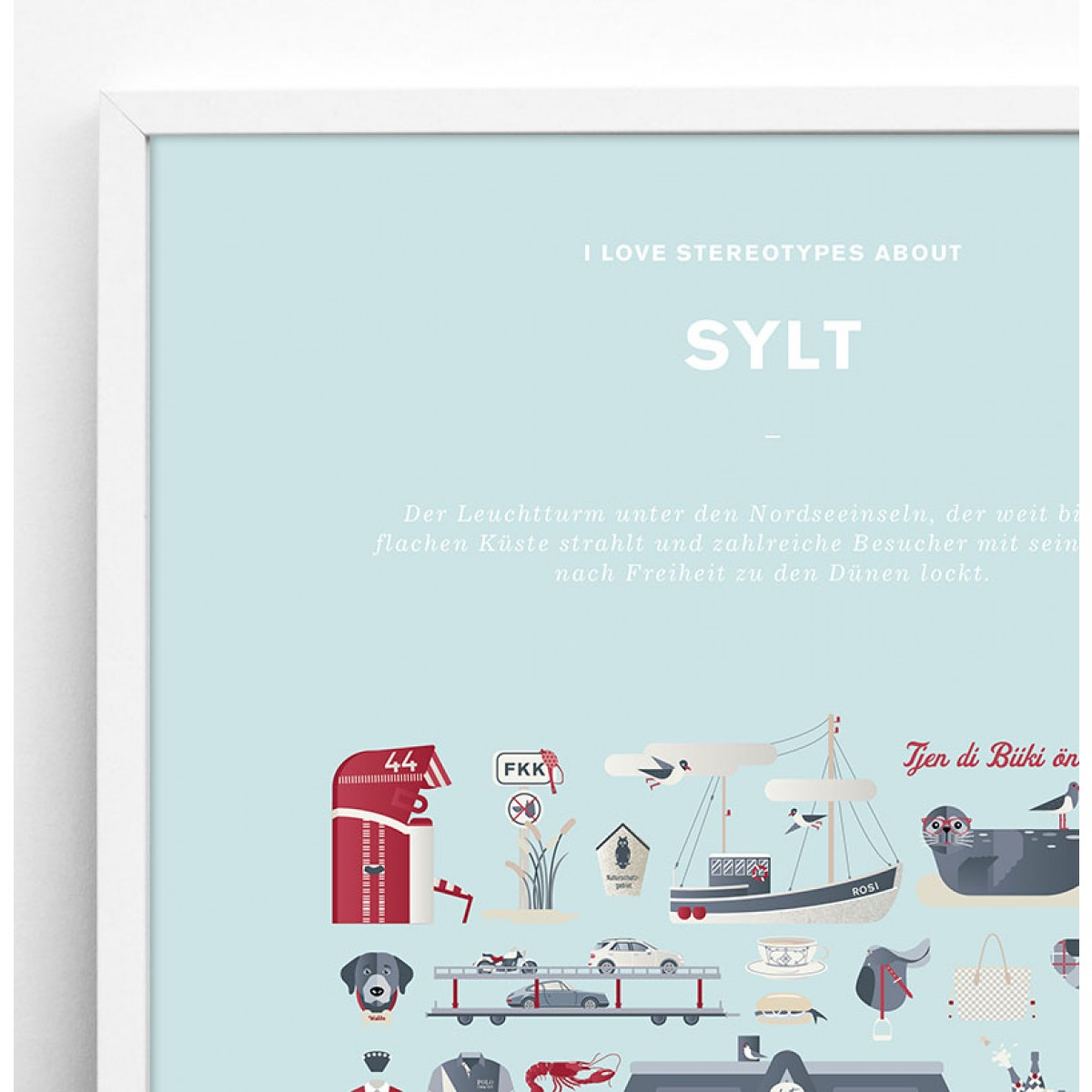 Sylt Plakat (Sonderedition)
