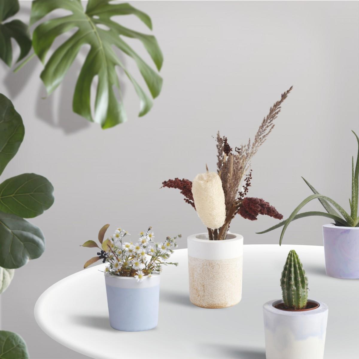 FLOWERPOT - DIY Bausatz für einen individuellen Blumenübertopf