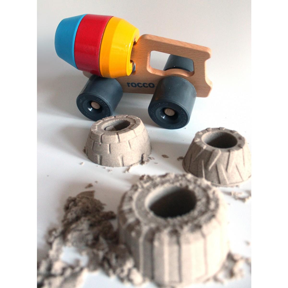 ROCCO - Betonmischer mit 3 Sandformen von NEUE FREUNDE