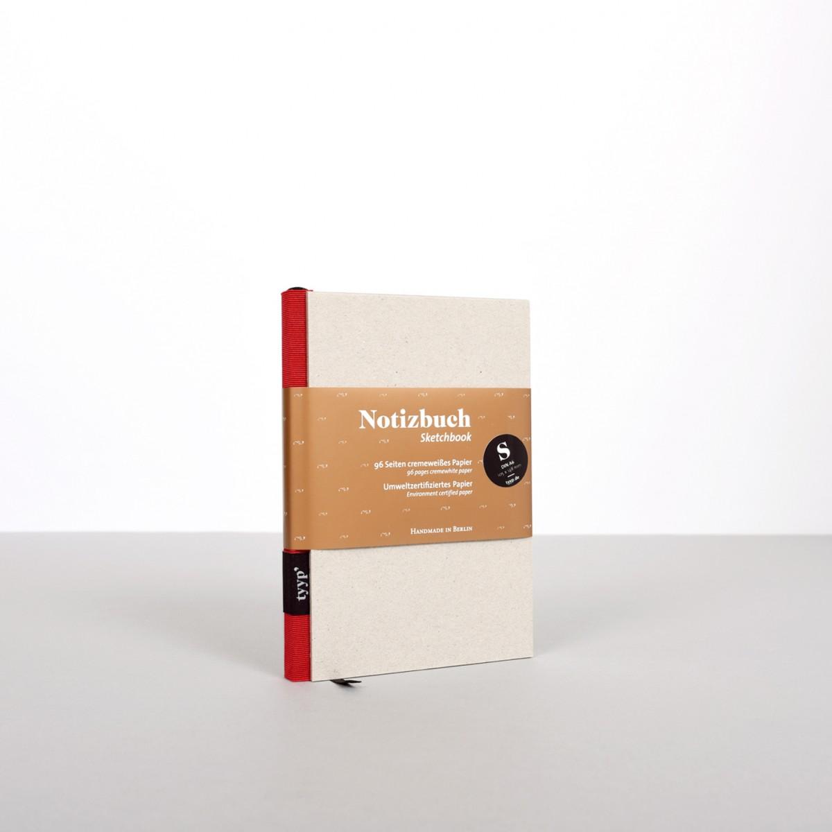 tyyp Notizbuch S (Karton)