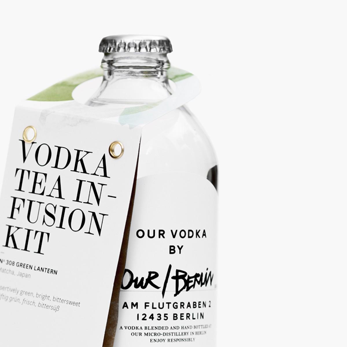 P & T - Matcha Tea Wodka Kit