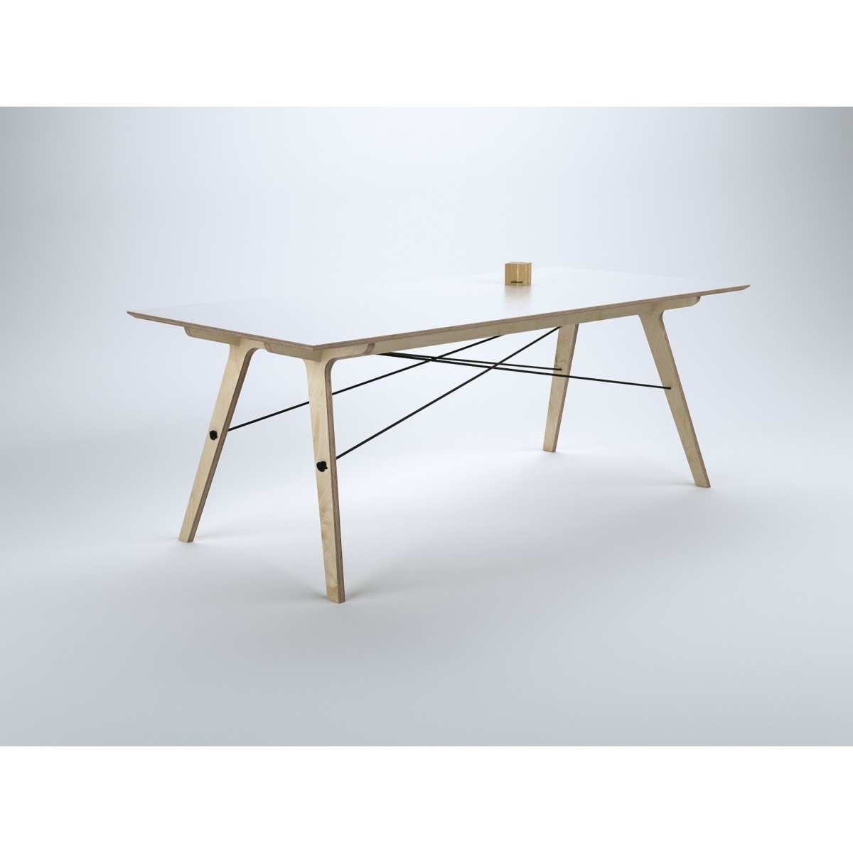 stückwerk plug(n)ply1 Tisch (190x90cm)