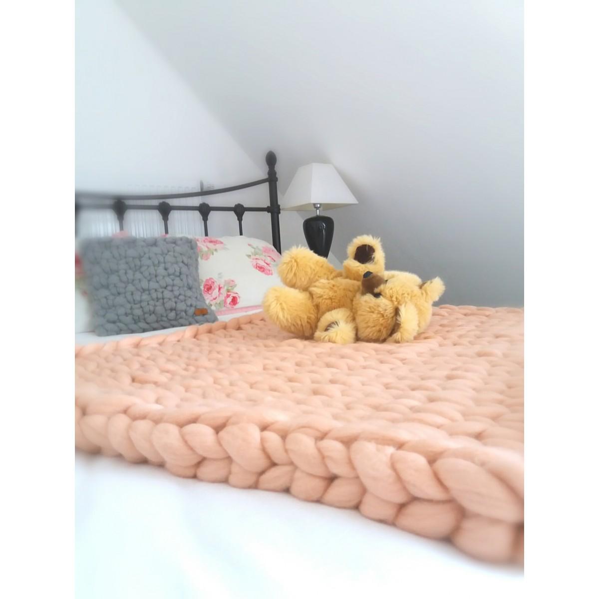 Dotty & Stitch - Mädchen Baby Decke