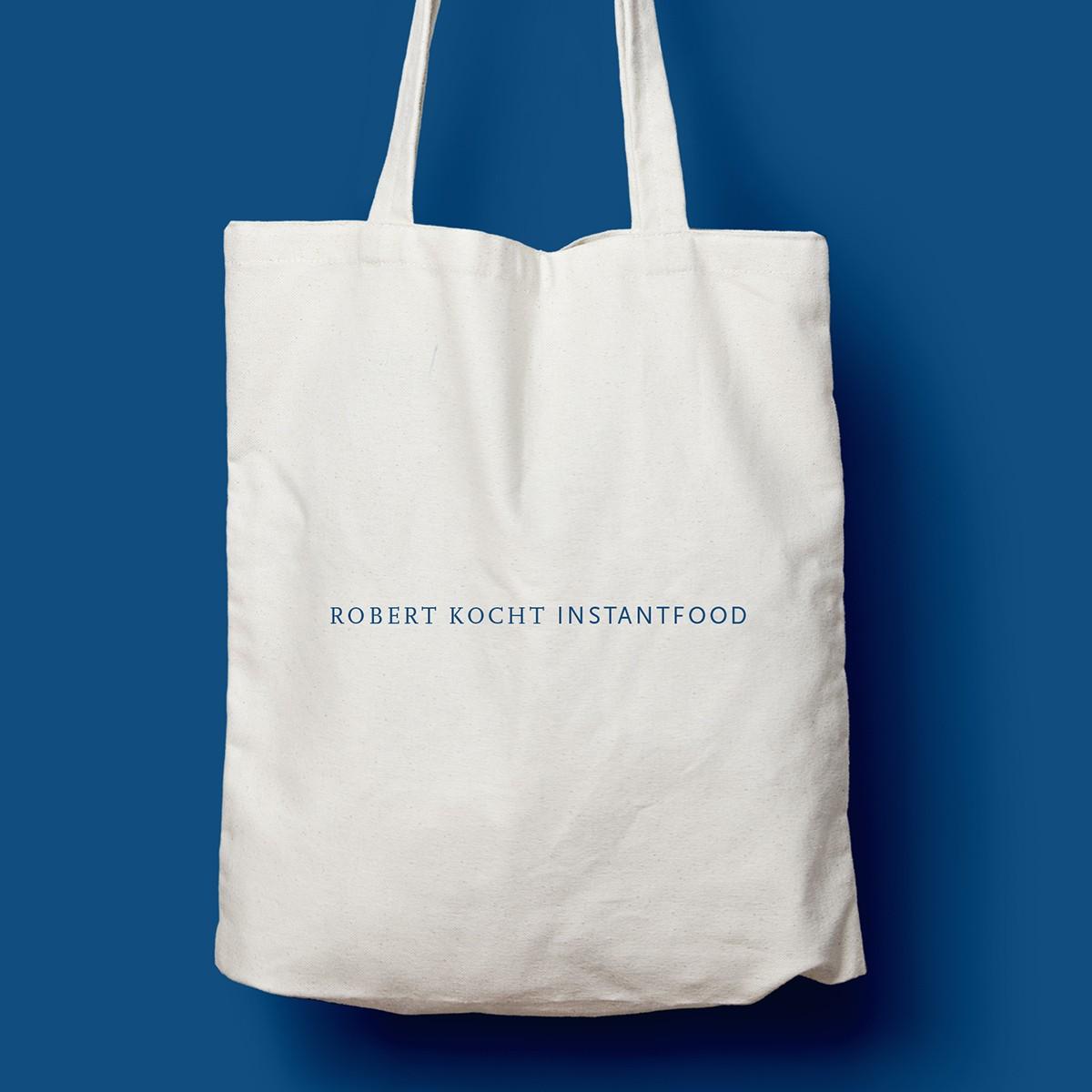 "edition ij Baumwolltasche ""Robert Kocht Instantfood"""