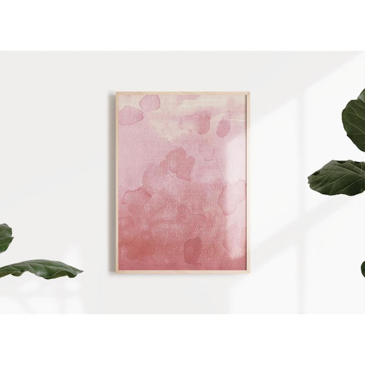 RÖDA VÅGOR 2 Print als hochwertiger Posterdruck im skandinavischen Stil von Skanemarie +++ Geschenkidee