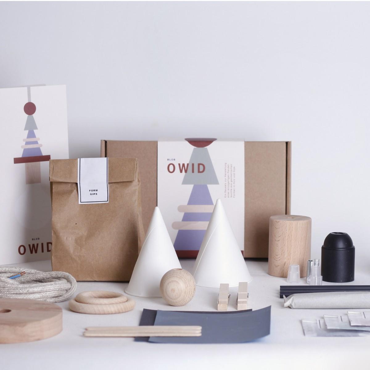 BLOB OWID - Pendelleuchten Bausatz