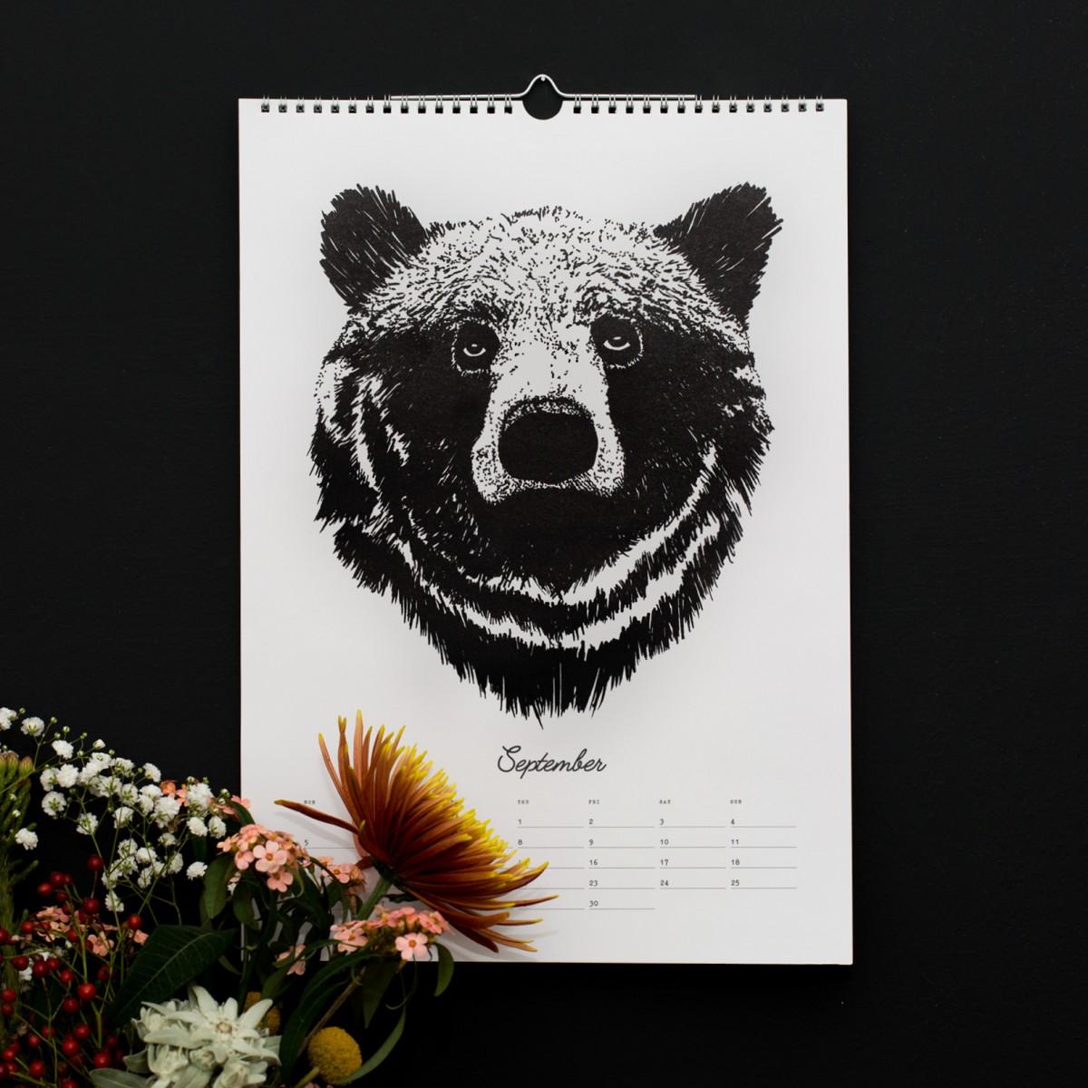 Wandkalender / Geburtstagskalender / Kalender 2022
