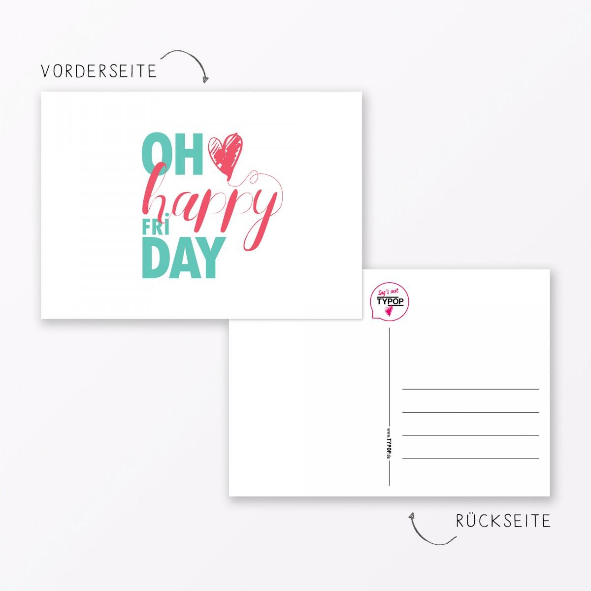 """20-teiliges Postkarten-Set """"Sprüche und Zitate"""" DIN A6"""