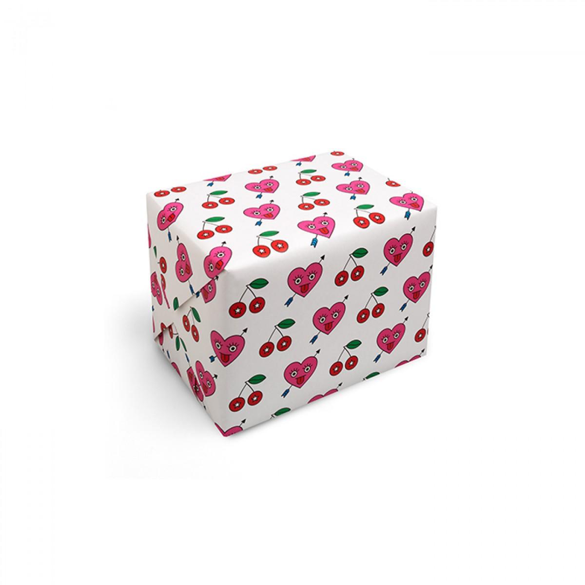 redfries wrap heartbreaker – Geschenkpapier DIN B2, 3 Bögen