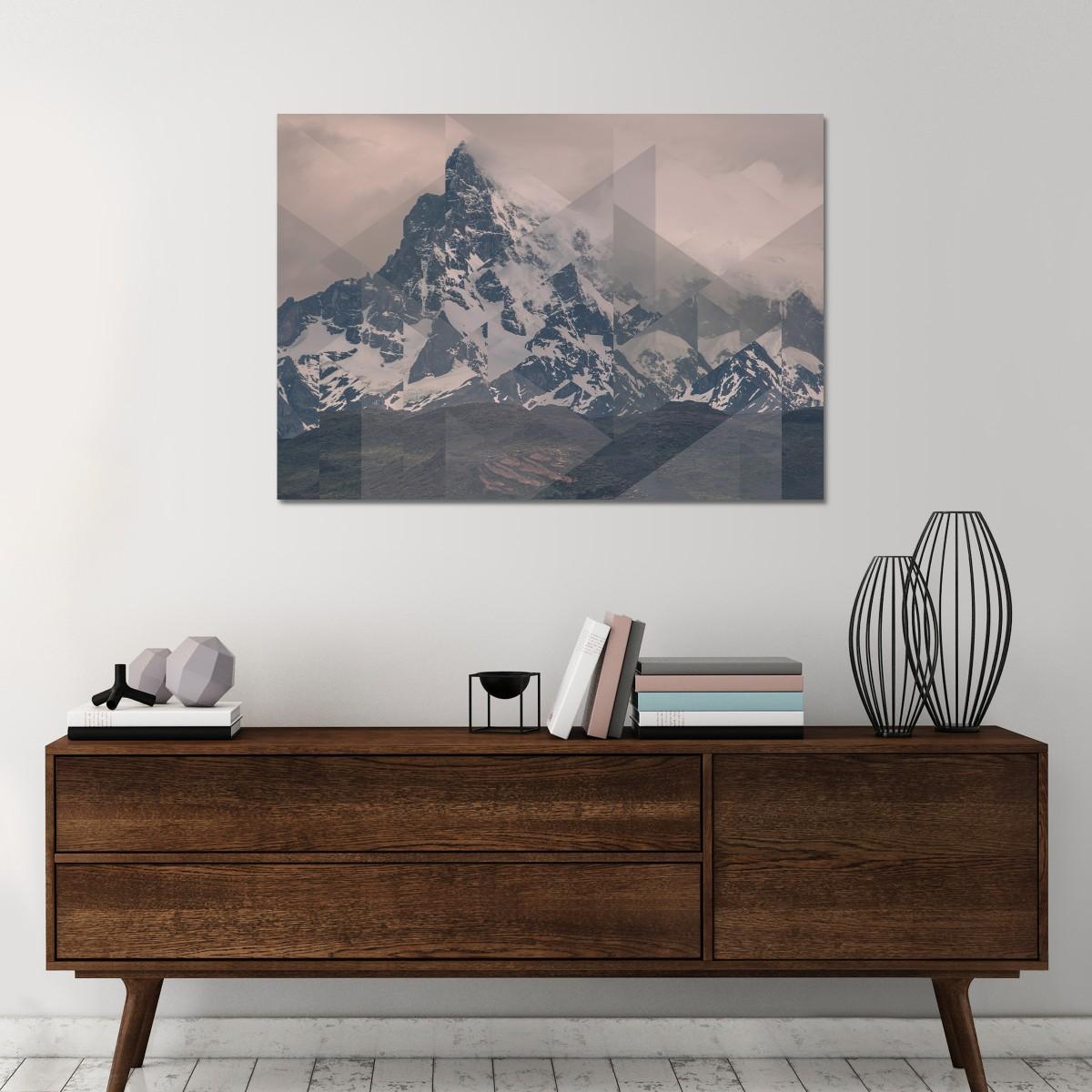 JOE MANIA / Modern Artprint Poster / Landscapes Scattered 1 (Perito Moreno COL) DIN A4 - A0