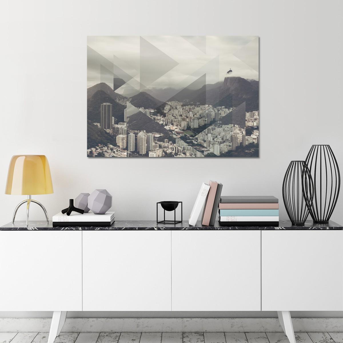 JOE MANIA / Modern Artprint Poster / Landscapes Scattered 2 (Pan de Azucar) DIN A4 - A0