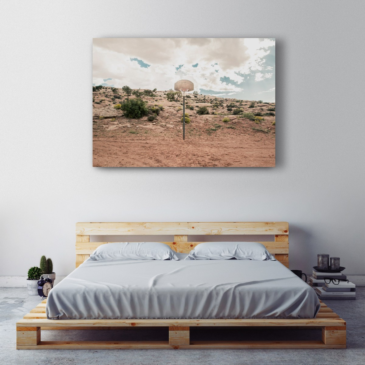 JOE MANIA / Modern Artprint Poster / Streetball Courts 1 (Arizona, USA) DIN A4 - A0