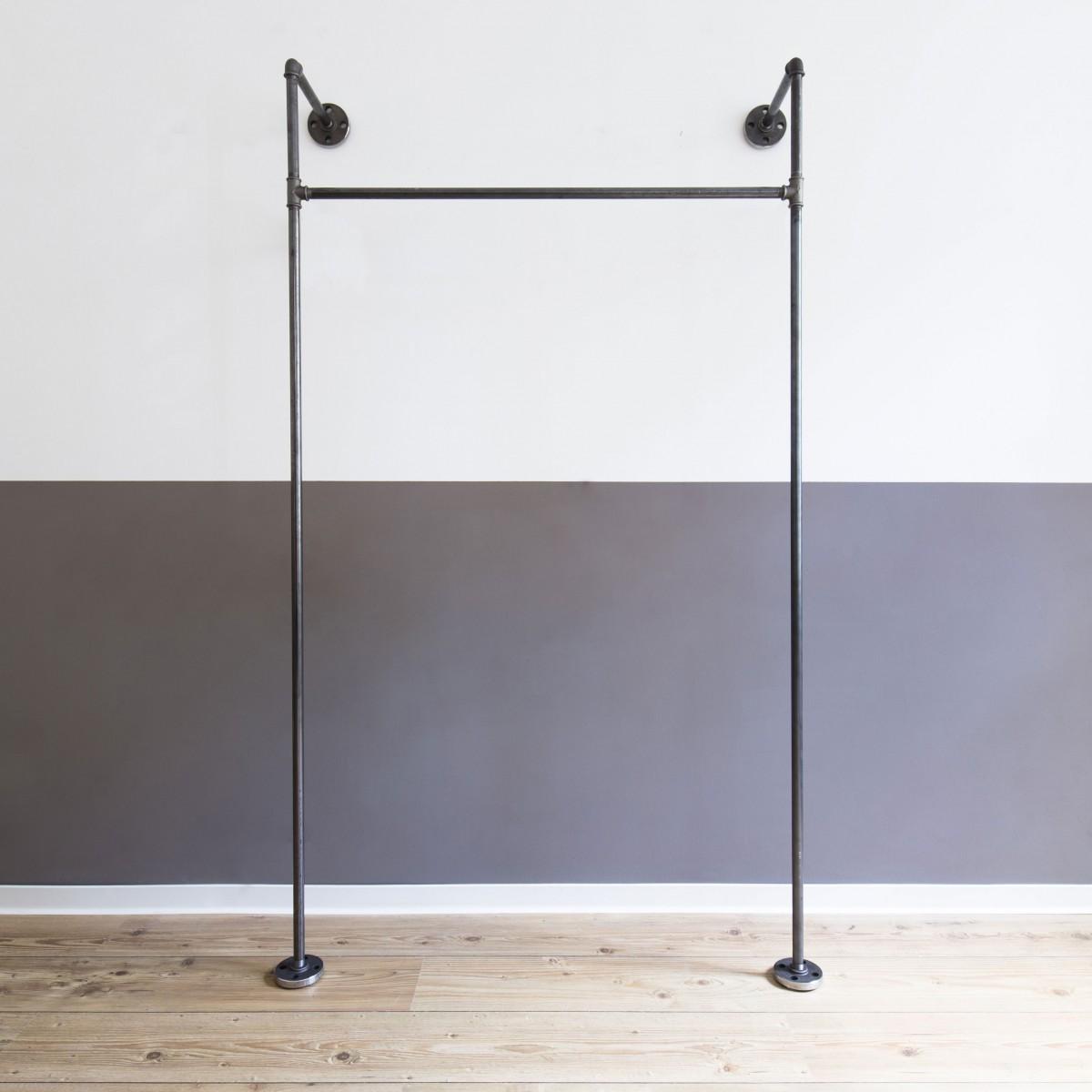 various Offener Kleiderschrank MONO HIGH (light)