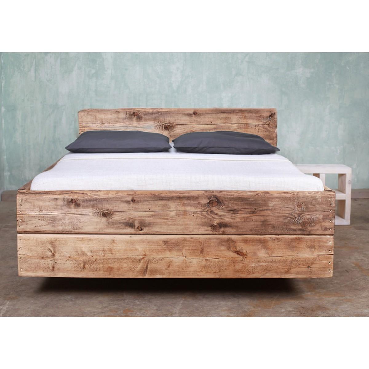 bauholz bett cucuron r ckenlehne. Black Bedroom Furniture Sets. Home Design Ideas