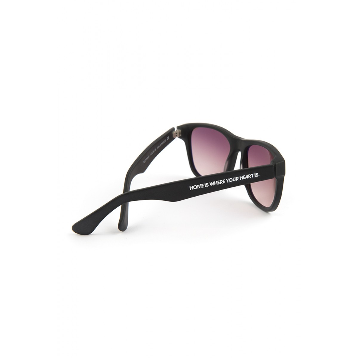 """HOME IS WHERE YOUR HEART IS. – Acetat Sonnenbrille """"BLACK BEAUTY II"""""""
