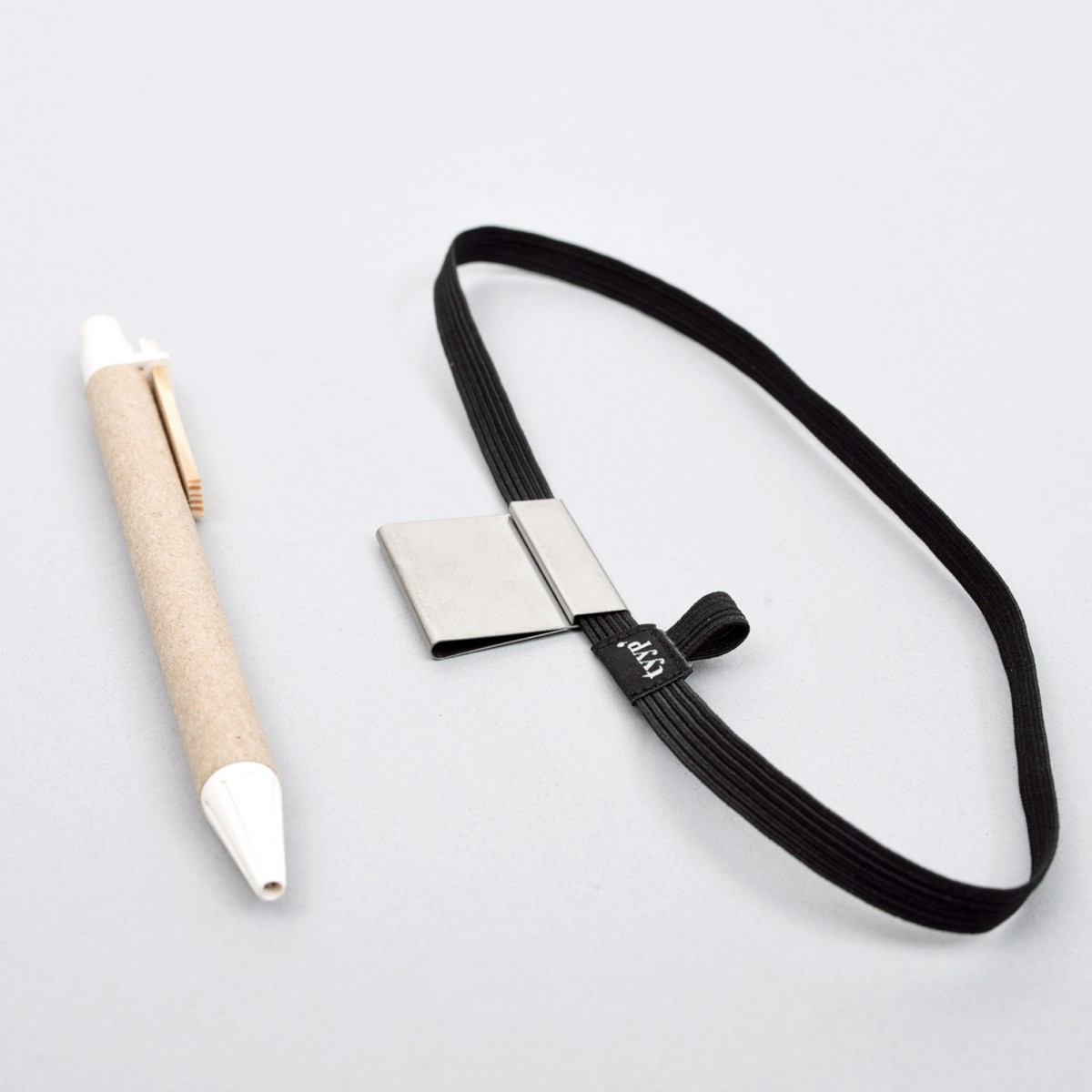 Stifthalter & Gummiband für DIN A4, A5 und A6 (Pen loop)