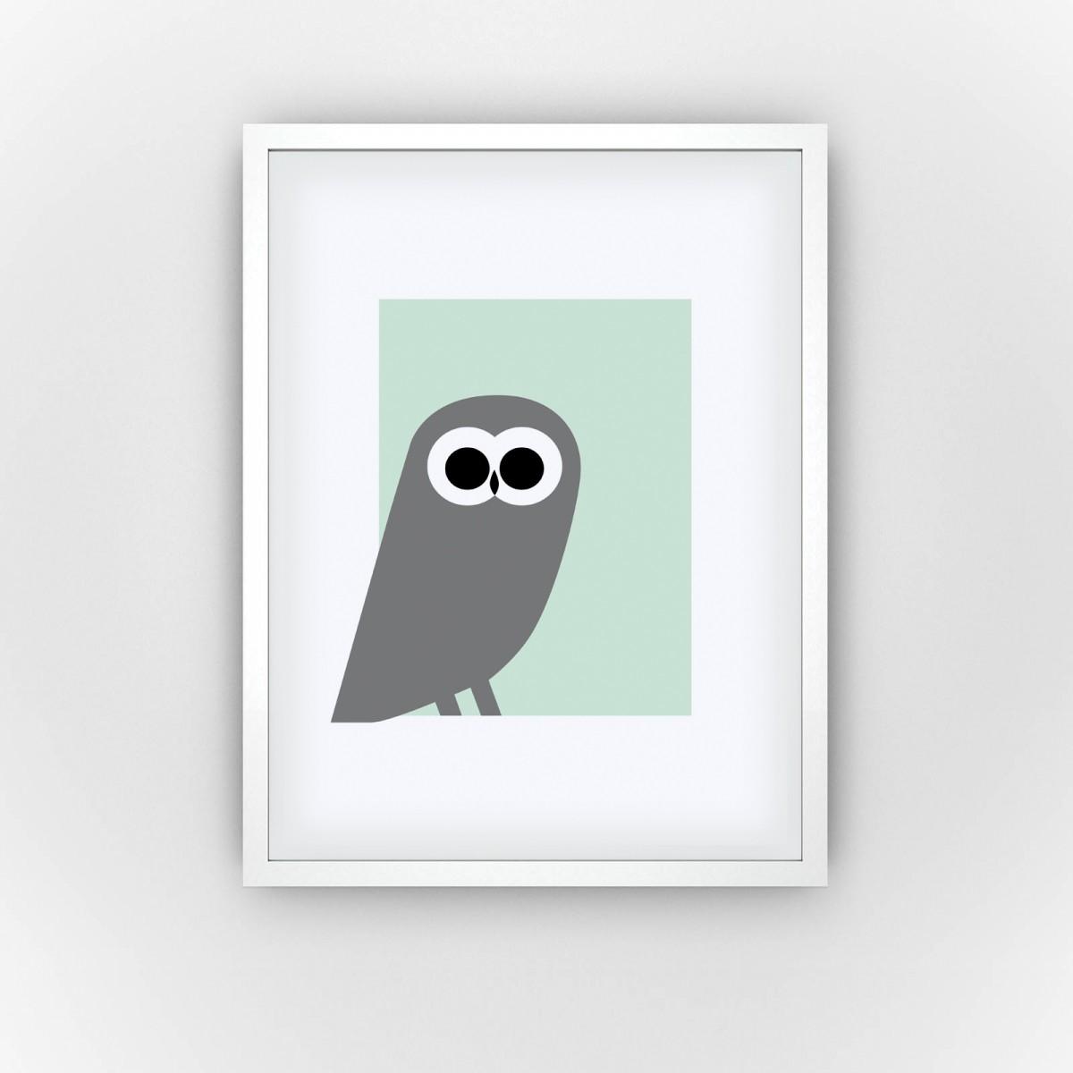 Mousy Owl (Fine Art Bureau)
