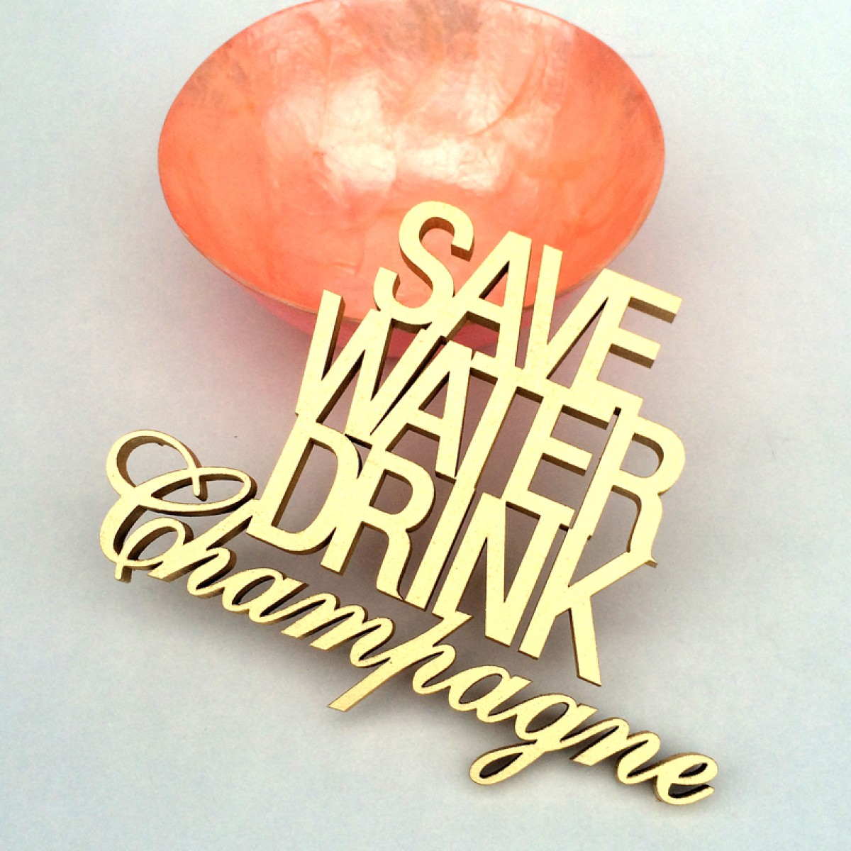 NOGALLERY SAVE WATER DRINK Champagne