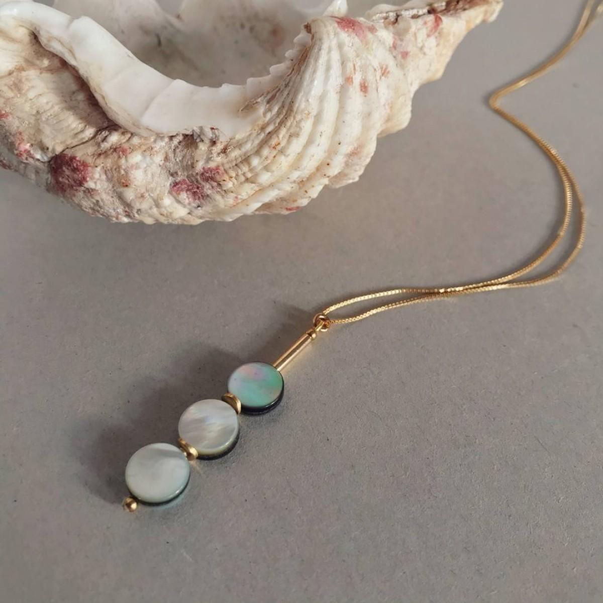 IDA PING Jewelry // GENTLE SEA NECKLACE N'1