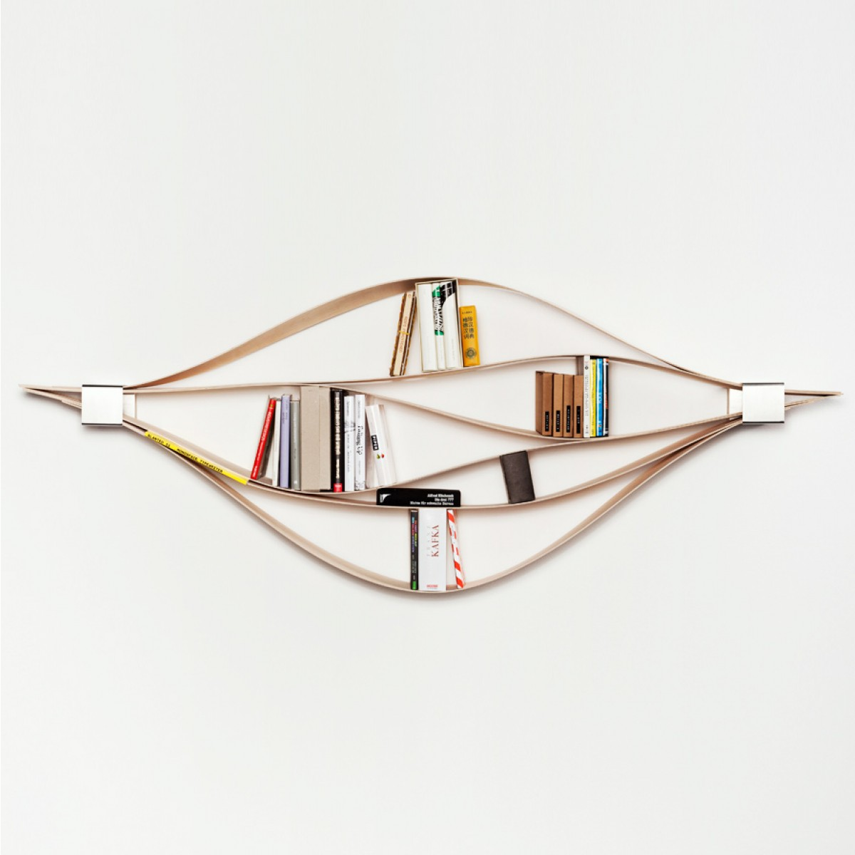 NEUVONFRISCH Chuck - The Flexible Wall Shelf (natural)