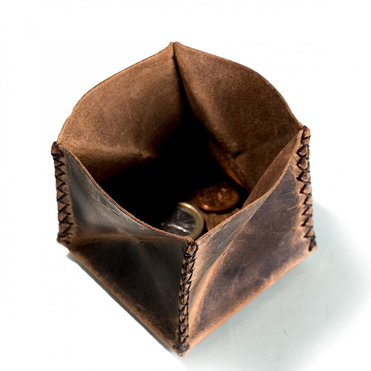 hecho. Münzbeutel (Kleingeldbörse, Münzbörse, Geldbörse)