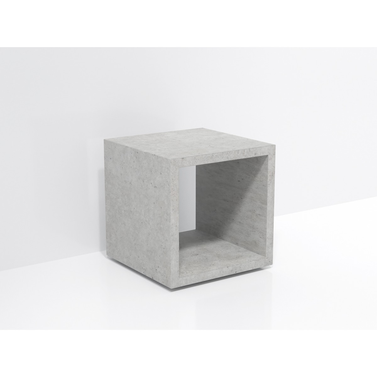 FORMDIMENSIONEN Beton Lowboard »Naked Cube«
