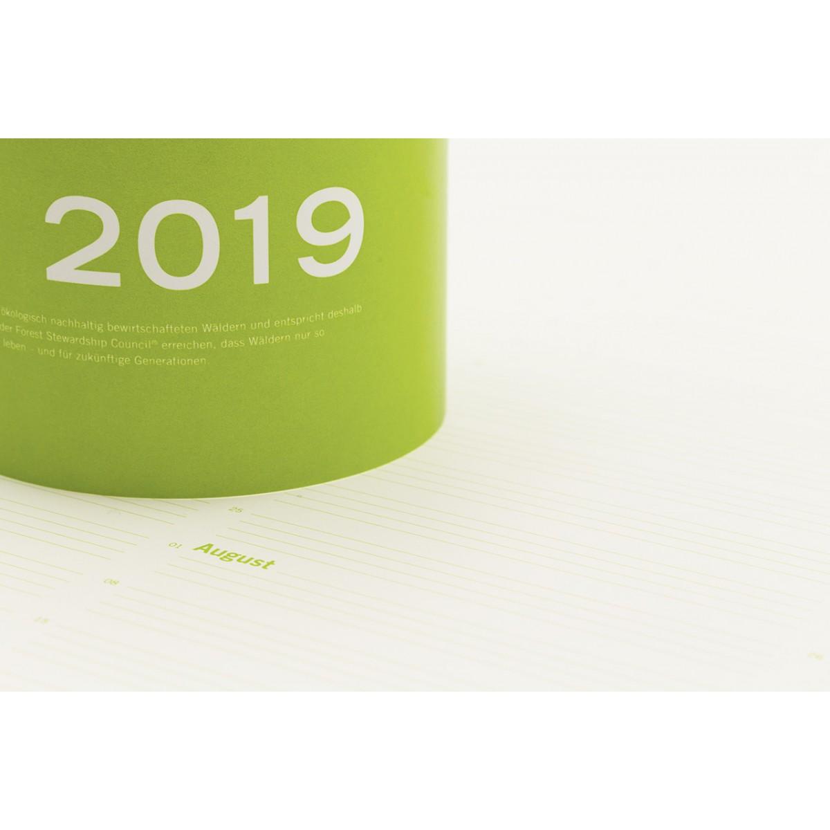 Open Diary 2019 The art of living – Kalender-Plakat von Michael Volkmer