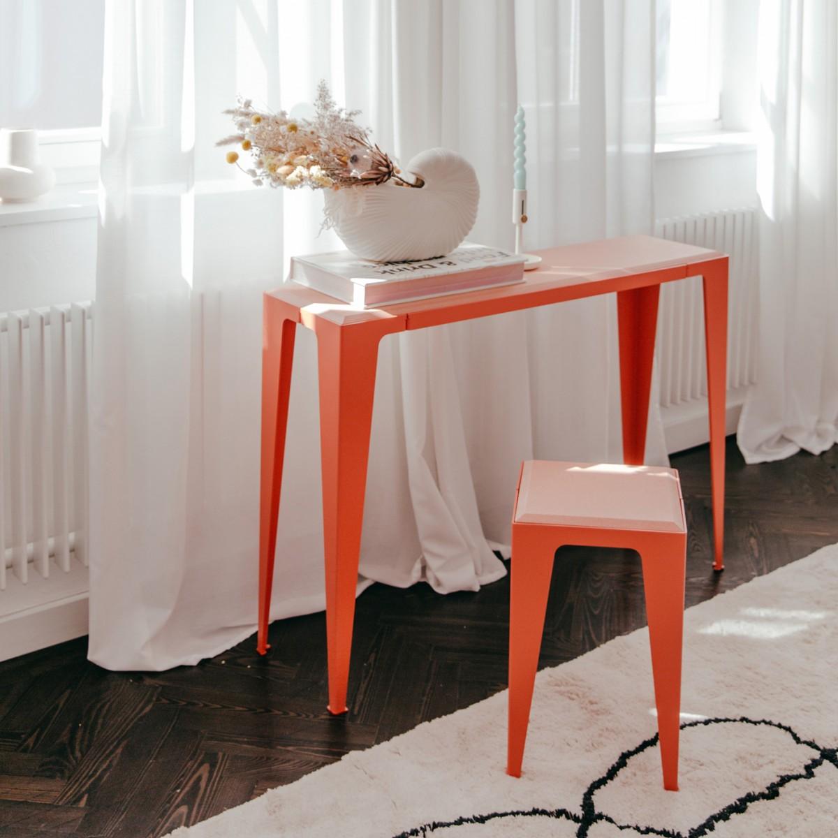 KONSOLE |CHAMFER| Kalypso-Rot *EXKLUSIVE KOLLEKTION* | nachhaltiges Möbeldesign | WYE