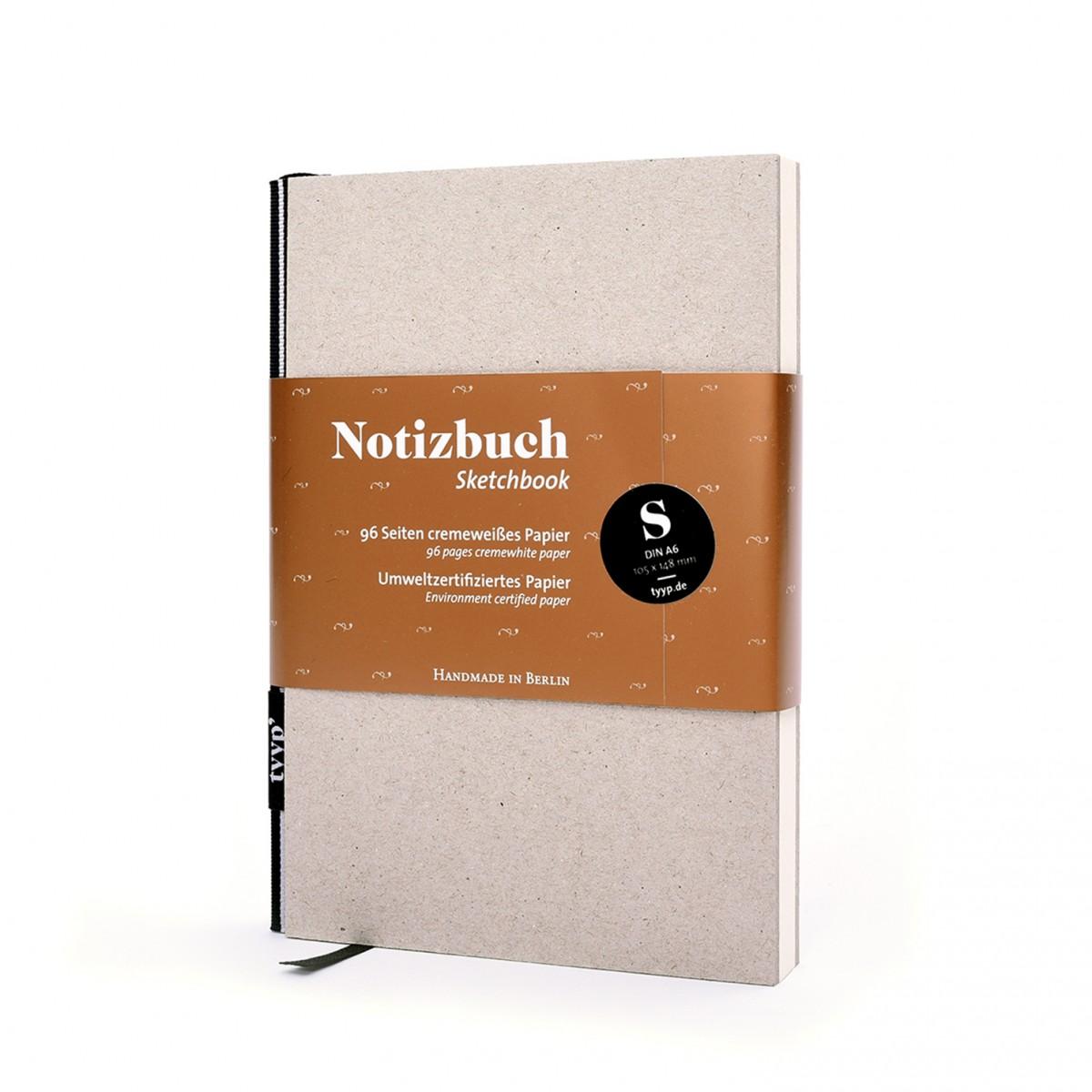tyyp Notizbuch DIN A6 (Karton)
