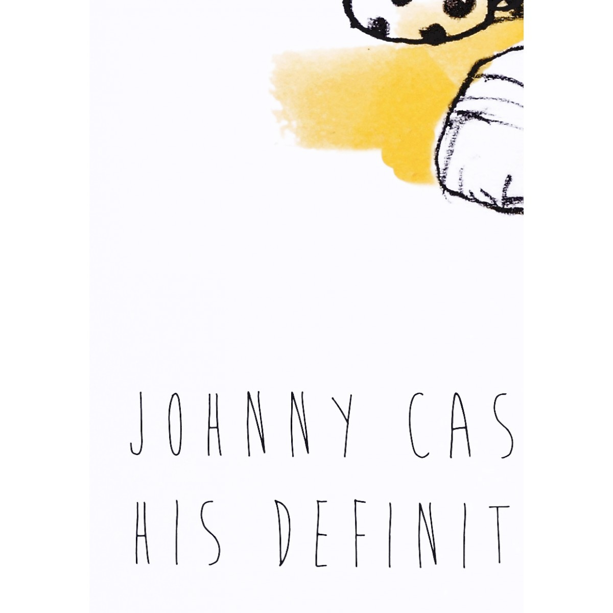 "PETERSEN Poster ""Johnny Cash"", A3"