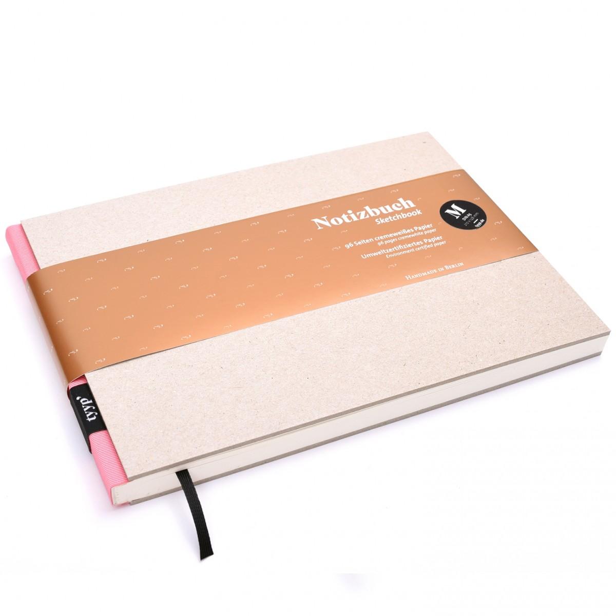 Notizbuch M (Karton) DIN A5 quer