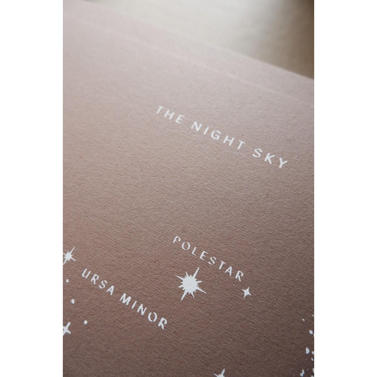 THE NIGHT SKY - A3 Print - Anna Cosma