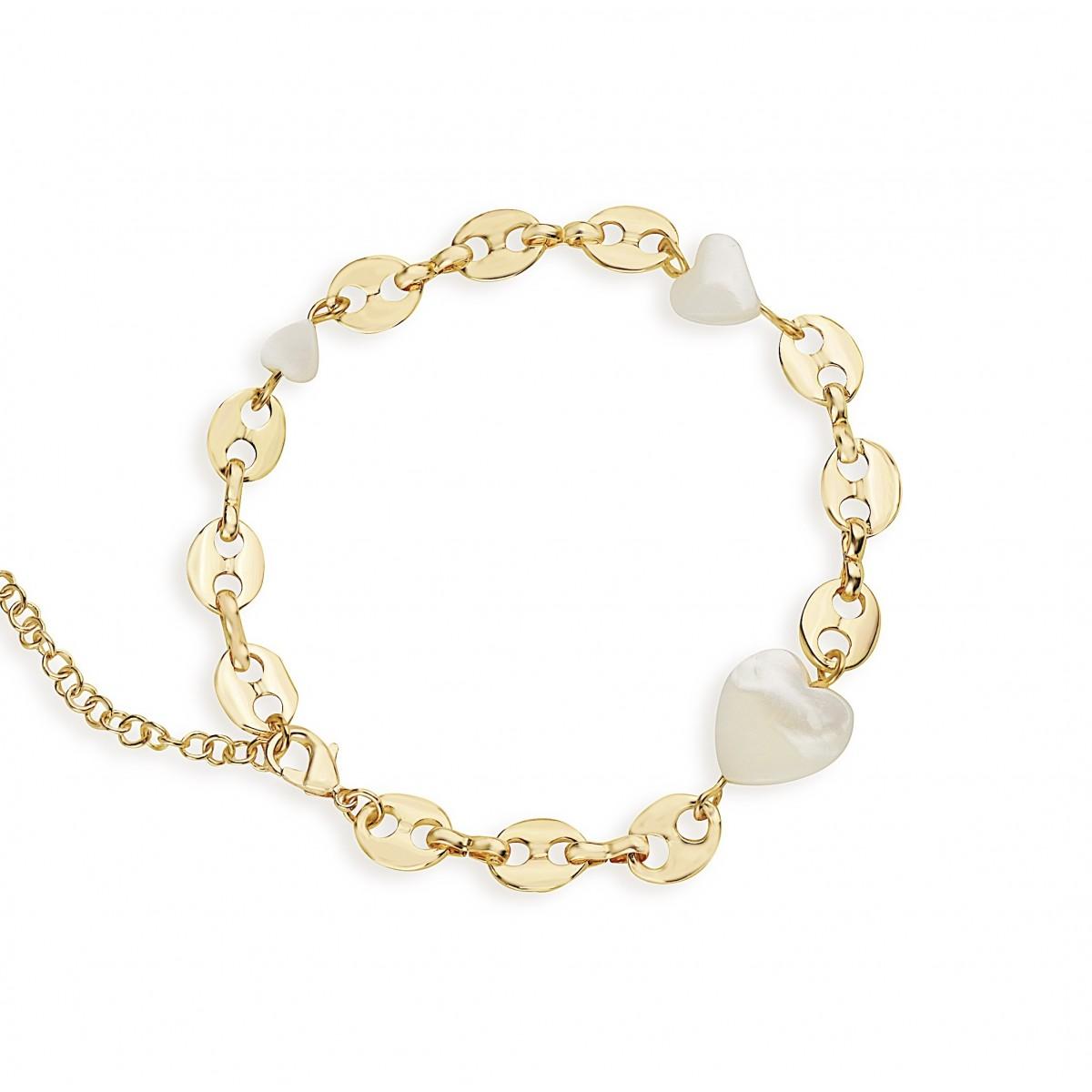 Valerie Chic - I'M YOURS Armband - 18 Karat vergoldet