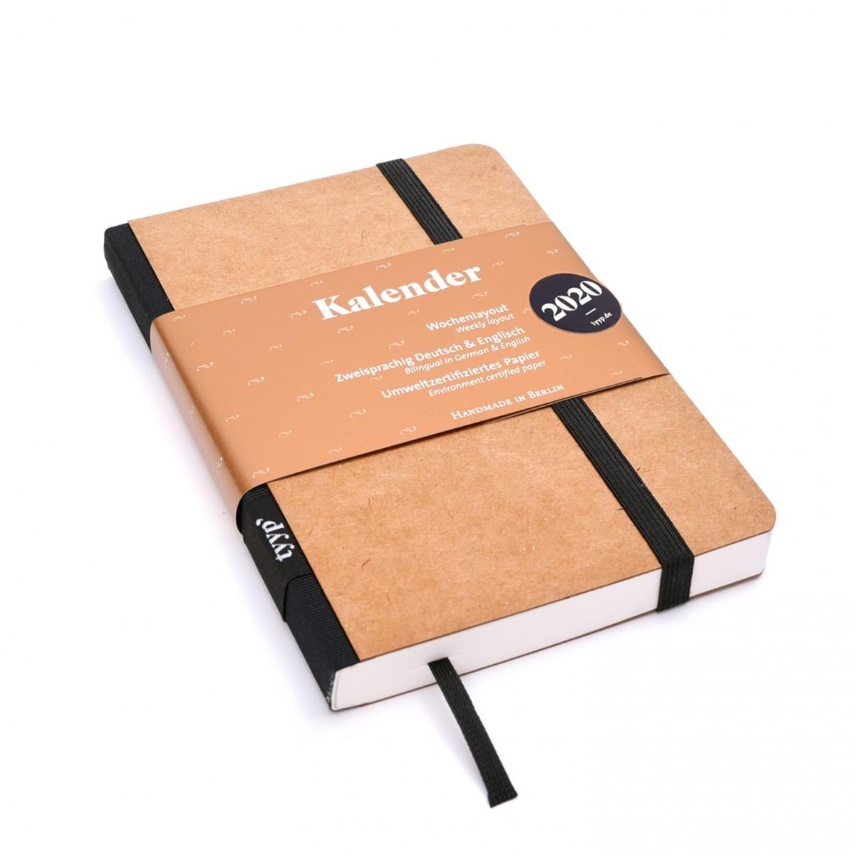 tyyp Kalender 2020 - Natur, DIN A6, Handmade