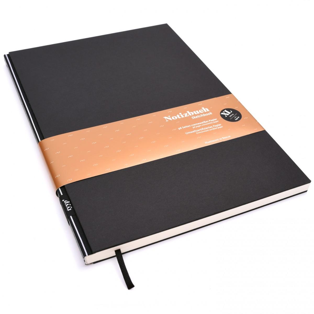 Notizbuch XL (Schwarz) DIN A4